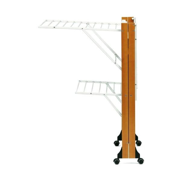 Skladací sušiak na bielizeň z bukového dreva Arredamenti Italia Gabbiano