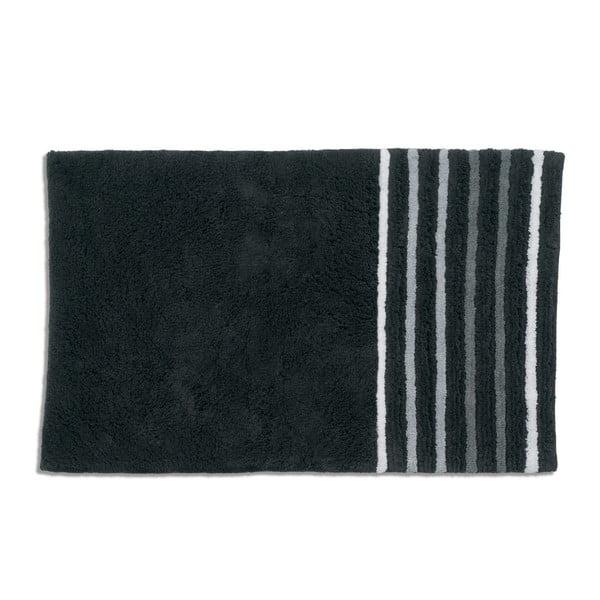 Kúpeľňová podložka Kela Ladessa, čierna, 50x80 cm