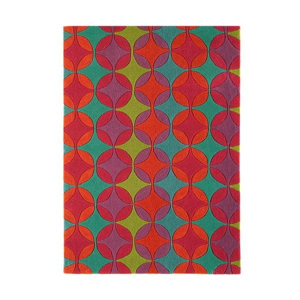 Koberec Harlequin Retro Red, 120x170 cm