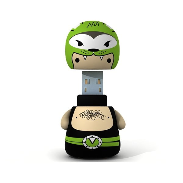 USB flash disk Greenwolf, 4 GB