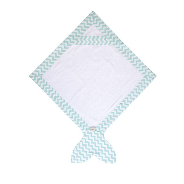 Detský uterák Fish Mint, 80x 80 cm
