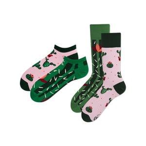 Sada 2 párov klasických a členkových ponožiek Many Mornings Summer, veľ. 39-42