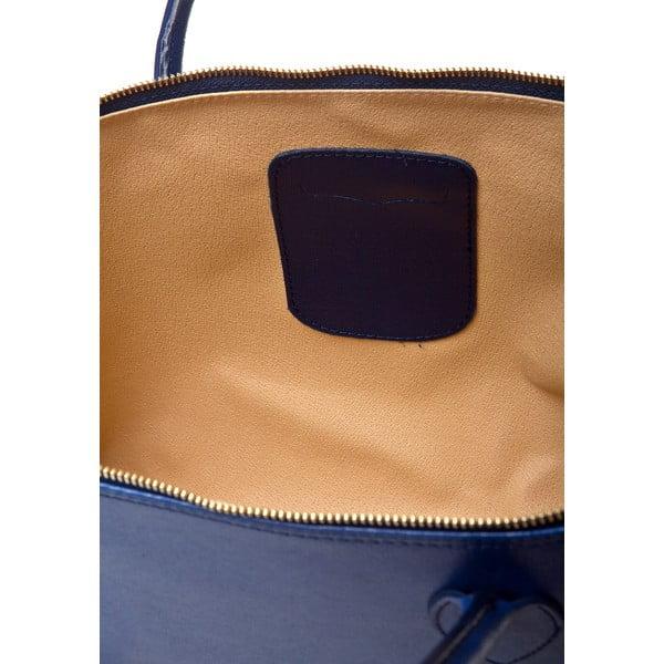 Kožená kabelka Orabella, modrá