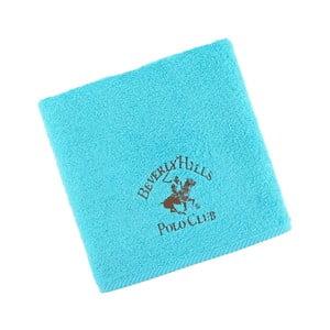 Tyrkysový bavlnený uterák BHPC, 50x100cm