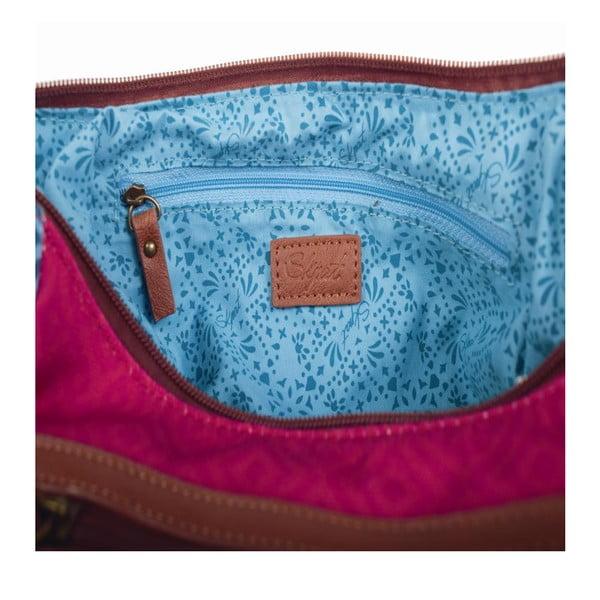 Pestrofarebná kabelka SKPA-T, 29 x 27 cm