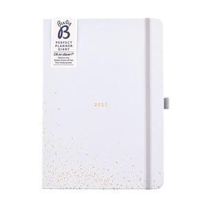 Diár formátu A5 na rok 2020 Busy B Contemporary, 176 strán