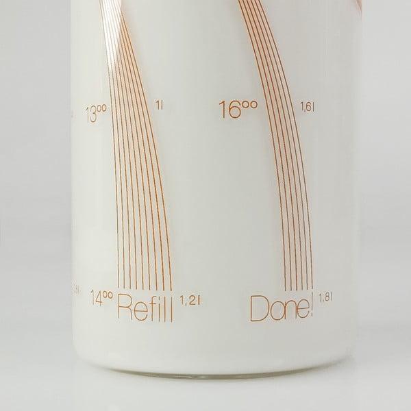 Fľaša Drinkitnow Flipper 600 ml, oranžová