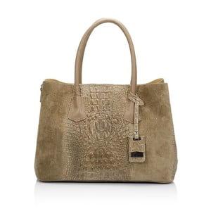Hnedosivá kožená kabelka Markese Procris