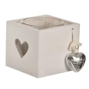 Svietnik Candle Heart, 9x9 cm