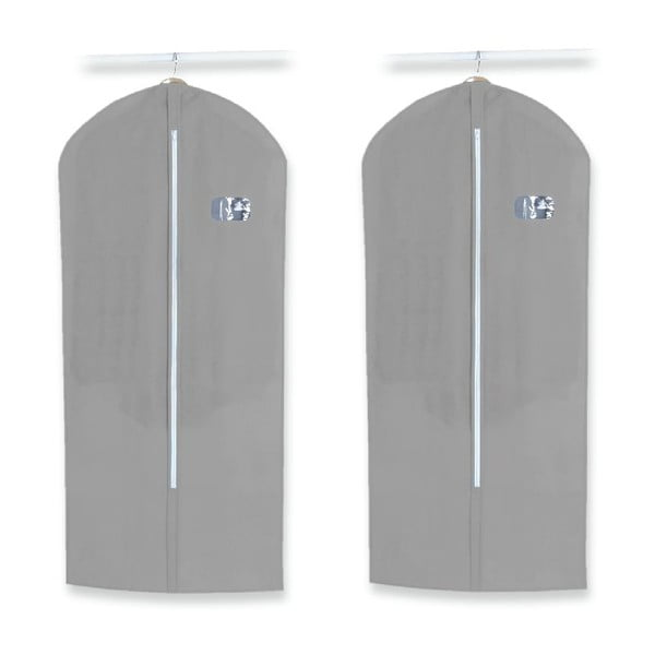 Set 2 obalov na šaty Dress Cover Grey
