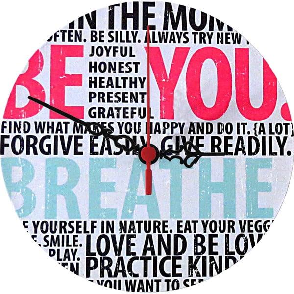 Nástenné hodiny Breathe, 30 cm
