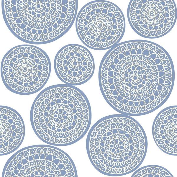 Obliečky Circle Azul, 160x200 cm