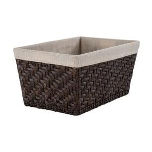 Úložný kôš z rákosia Compactor Rush Basket, výška 20,5 cm