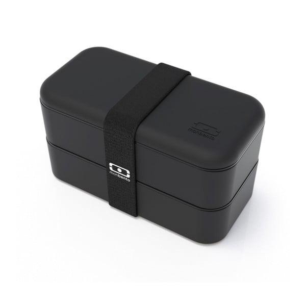 Čierny obedový box Monbento Original