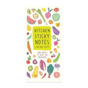 Bločky Chronicle Books Kitchen Sticky Notes + To-Do List