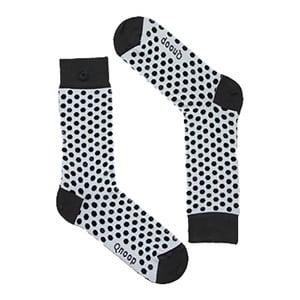 Ponožky Qnoop On the Dot Grey, veľ. 35-38