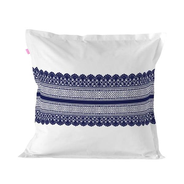 Obliečka na vankúš z čistej bavlny Happy Friday Embroidery, 60 x 60 cm