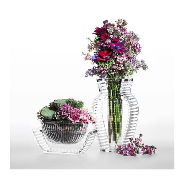 Transparentná váza Kartell I Shine