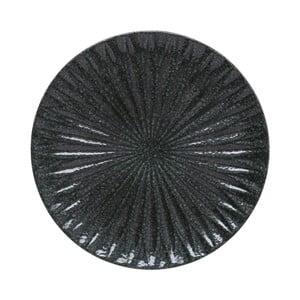 Čierny dekoratívny podnos A Simple Mess Alberte, 10,5cm
