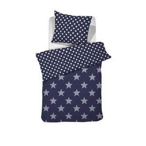 Tmavomodré bavlnené posteľné obliečky Damai Starville Peacoat, 200 x 140 cm