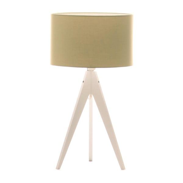 Stolná lampa Artist Mint/White, 40x33 cm