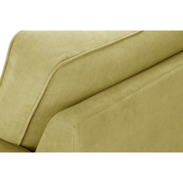 Žltá dvojdielna sedacia súprava Jalouse Maison Serena