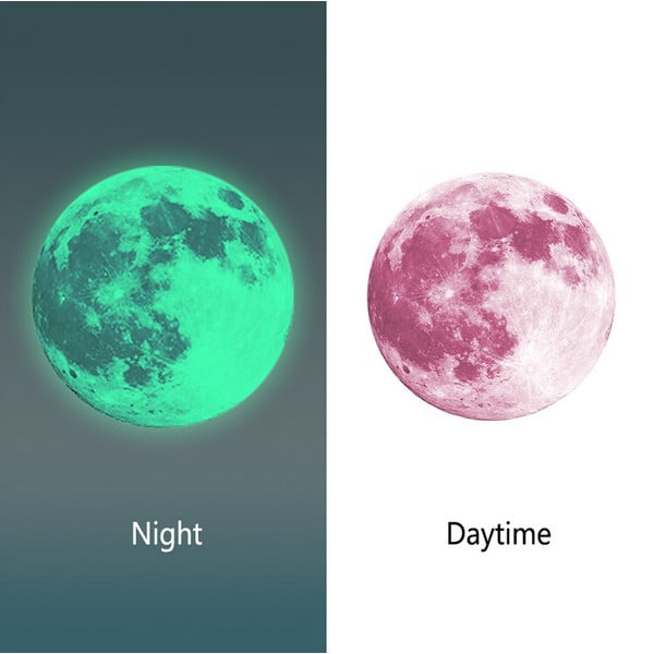 Samolepka svietiaca v tme MaDéco Moon