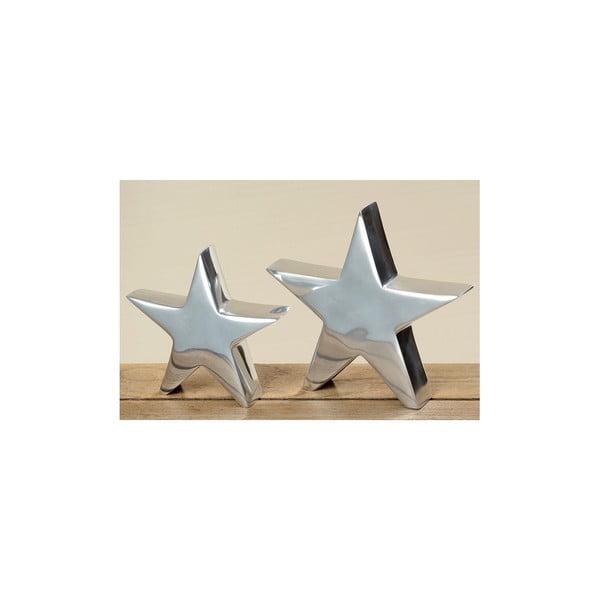 Sada 2 dekoratívnych predmetov Star