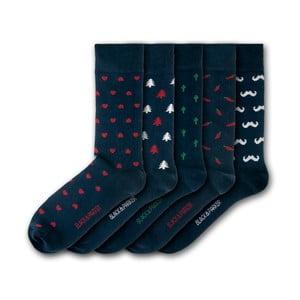 Sada 5 ponožiek Black&Parker London Mapperton, veľkosť 37 – 43