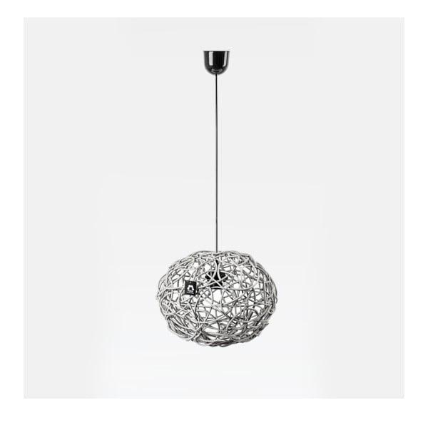 Stropné svetlo Kula, 32x25 cm, biele