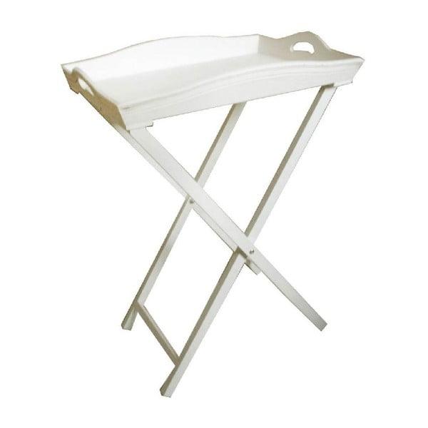 Odkladací stolík s táckou Vintage Light, 55x73x40 cm