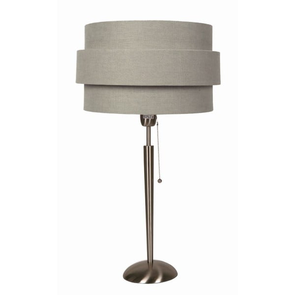 Stolná lampa Revival Satin/Grey