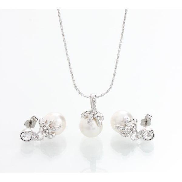 Set náhrdelníka a náušníc so Swarovski Elements Laura Bruni Chica