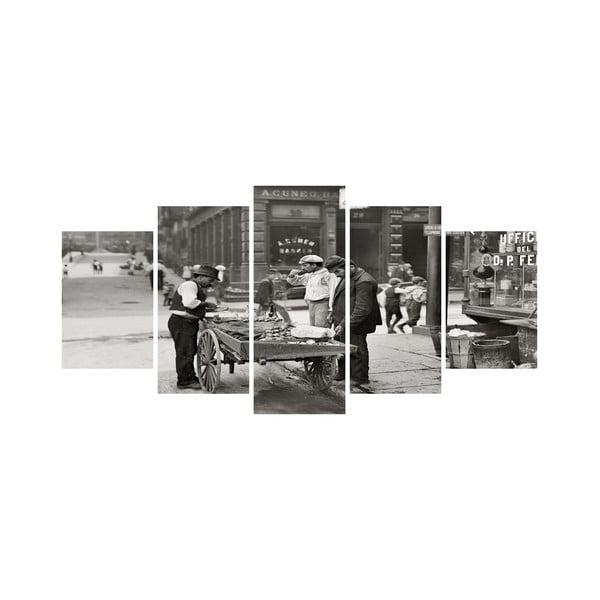 Viacdielny obraz Black&White no. 26, 100x50 cm
