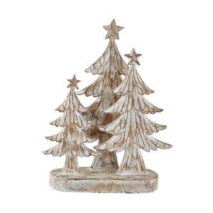 Dekorácia s vianočnými stromčekmi KJ Collection, 29 cm