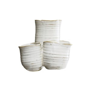 Váza White Trio