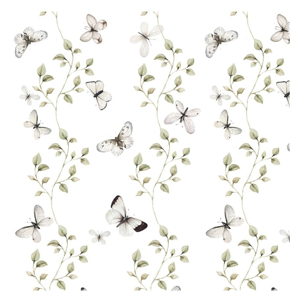 Sada nástenných samolepiek s motívom motýľov Dekornik Butterflies Having Fun