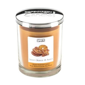 Aroma sviečka  Sweet Orange & Amber, doba horenia 40 hodín