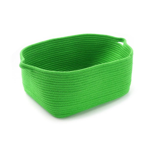 Úložný košík Cestia, zelený