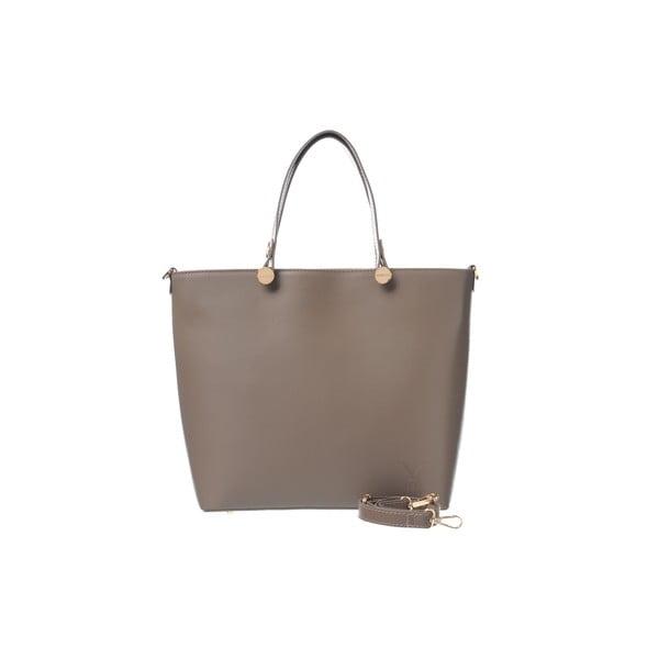 Kožená kabelka Miss Taupe