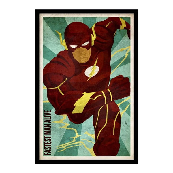 Plagát Fastest Man Alive, 35x30 cm
