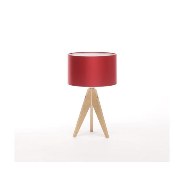 Stolná lampa Artista Birch/Red, 28 cm