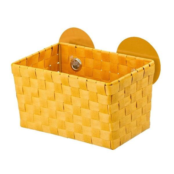 Oranžový košík s prísavkami Wenko Fermo