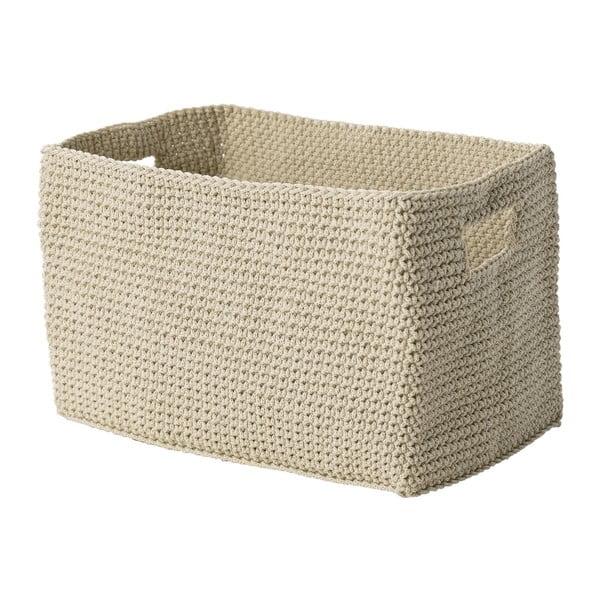 Košík Confetti Sand, 22 cm