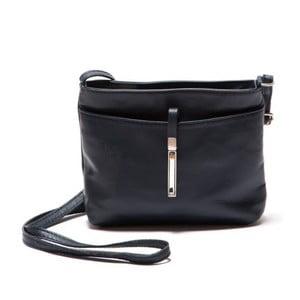Tmavomodrá kožená kabelka Roberta M Tarro Blu