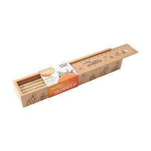 Drevený peračník Portico Designs Peach