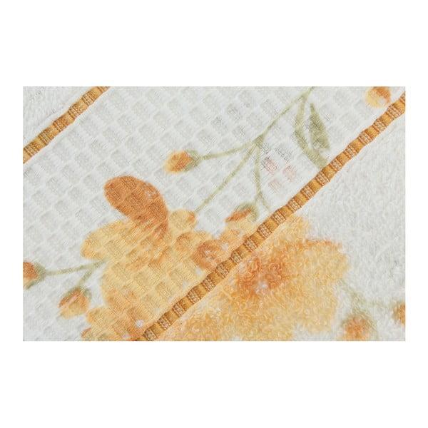 Sada 2 osušiek Camene Yellow, 50x90 cm