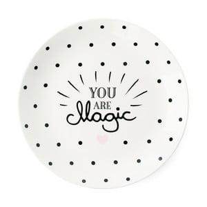 Keramický tanier Miss Étoile You Are Magic, ⌀17 cm