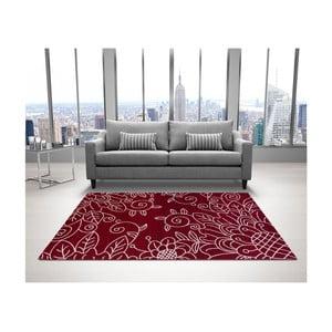 Červený koberec DECO CARPET Tripoli, 133×190 cm