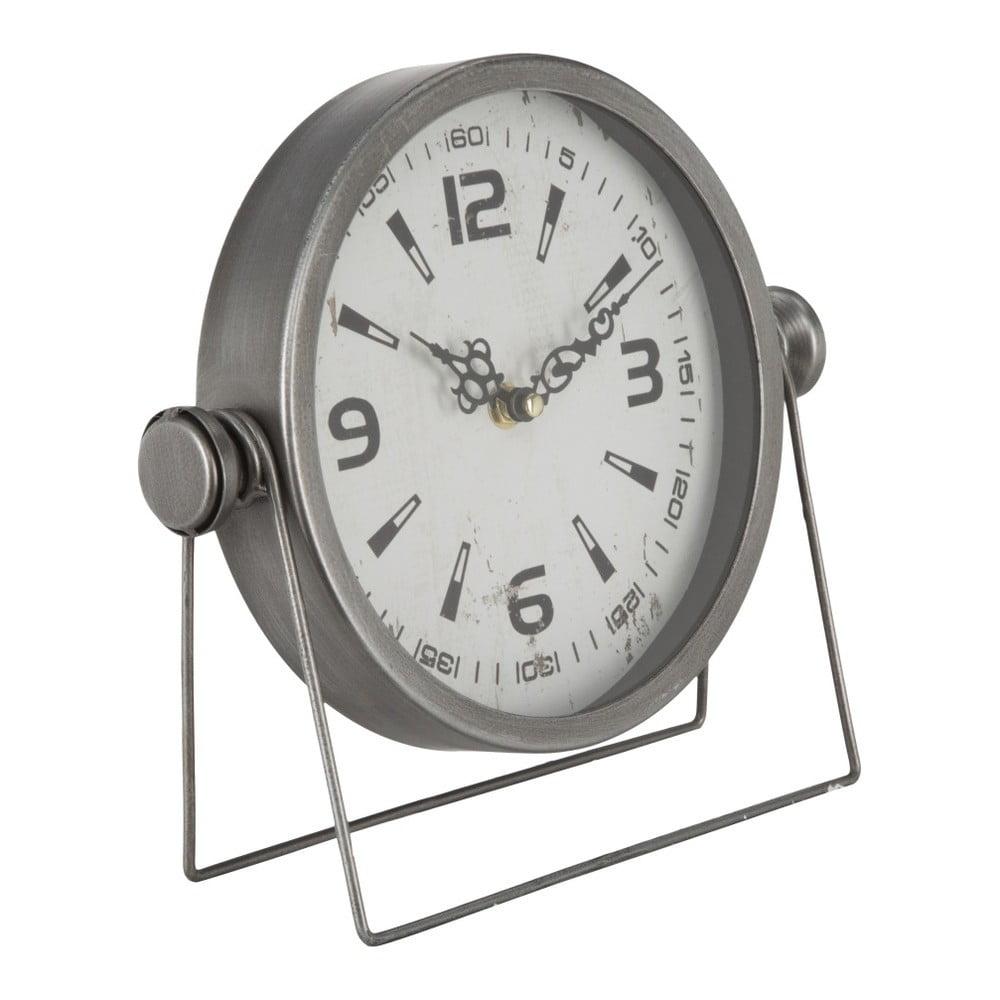 Stolové hodiny Mauro Ferretti Pull Silver, 25 × 23,5 cm